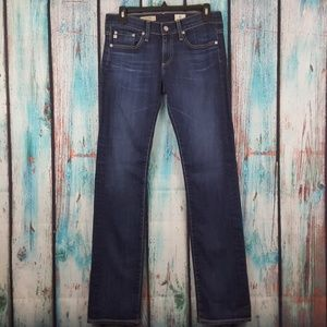 NWOT AG The Tomboy Relaxed Straight Leg Jeans
